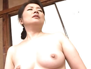 Asian,Bath,Couple,Japanese,Mature,Natural Tits,Old vs Young Sweet Kaoru Namiki is a milf with...