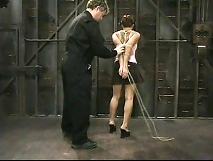 Bondage,BDSM,Slave,Torture DragonLily gets her Asian cunt toyed...