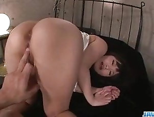 Asian;Blowjob;Fingering;Hardcore;Teen;Japanese Nene Masaki top POv blowjob with...