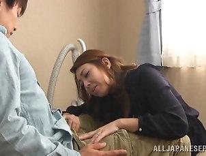 Reality,Couple,Hardcore,Asian,Japanese,Story,MILF,Cougars Gorgeous japanese mature lady sucks...