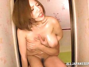 Reality,Couple,Hardcore,Asian,Japanese,Redhead Stunning Ruri Saijo Goes Really...