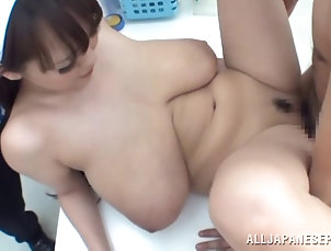 Group Sex,Hardcore,Foursome,Reality,Public,Asian,Japanese,Big Tits,Natural Tits A wild, busty Japanese girl shops...