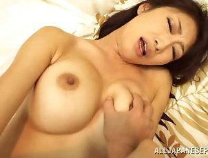 Couple,Hardcore,Amateur,Fingering,Big Tits,Asian,Japanese,Fake Tits Smoking hot Japanese babe gets her...