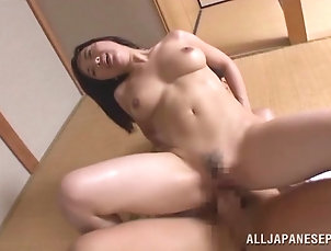 Couple,Hardcore,Asian,Japanese,MILF,Cougars,Wife,Big Tits,Natural Tits,Fingering,Handjob,Amateur Pretty Japanese cougar with big tits...