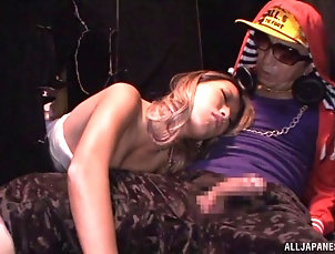 Couple,Hardcore,Asian,Japanese,Fetish Aika is having her pussy licked and...