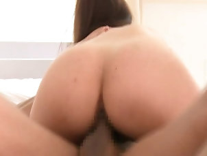 Couple,Hardcore,Asian,Japanese,Compilations Pretty-faced Asian brunette gets her...
