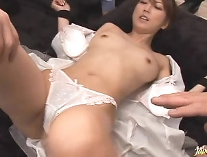 Foursome,Hardcore,Babes,Asian,Japanese,Toys,Pussy,Hairy,Natural Tits,Close Up Cum Covered Kaede Is Fucked With Sex...