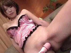 Asian;Cumshot;Japanese;Facials,Asian;Brunette;Couple;Cum Shot;Facial;Japanese;Masturbation;Shaved;Small Tits;Toys;Vaginal Masturbation Seira Matsuoka gets master to fuck...