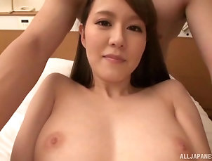 Couple,Japanese,Bra,Long Hair Busty Asian with sexy underwear...