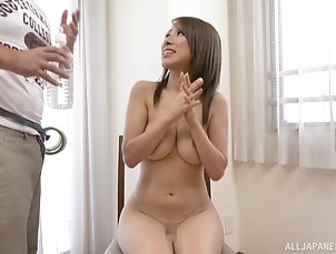 Couple,Japanese,Natural Tits Japanese babe Kitagawa Eria exposes...