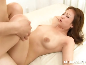 Natural Tits,Asian,Japanese,Couple,Hardcore Japanese milf sucks a few pricks in a...