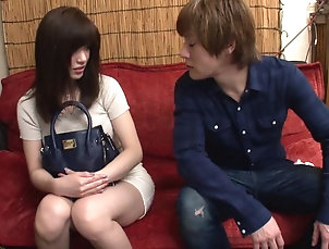 Couple,Hardcore,Asian,Japanese,Uniform,Shorts No one in Japan gives blowjobs like...