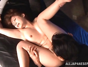 Amateur,Asian,Hardcore,Japanese,Licking Sexy Japanese chick gets her pussy...