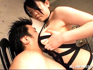 Asian,Japanese,Hardcore,Couple,Big Tits,Natural Tits,Cowgirl Naughty Asian cowgirl enjoying as her...
