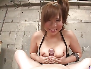 Asian;Cumshots;Handjobs;Japanese;Ferame;HD Videos;Oral Sex;Oral Severe titjob and oral sex with busty...