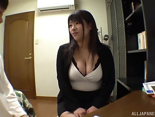 Couple,Japanese,Fetish,Foot Fetish,Chubby,Pantyhose,Nylon,Big Tits,Natural Tits Chubby and busty Ayukawa Miku shows...