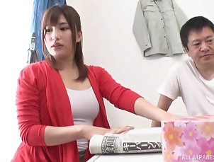 Couple,Japanese Cute Asian wants to try everything...