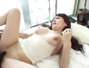 Amateur,Asian,Hardcore,Japanese,Massage Sexy Japanese milf gets her tits and...