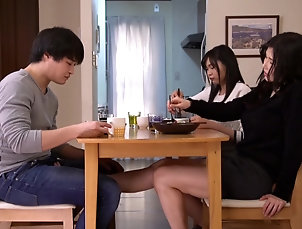 Couple,Japanese,Big Tits,Natural Tits,Bath Anri Okita lets her sweetie enjoy her...