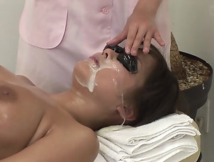 Japanese,Fetish JAV full body bizarre cum facial...