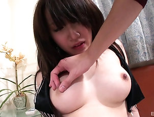 Couple,Hardcore,Toys,Vibrator,Asian,Natural Tits,Long Hair,Pussy Mouth watering curves make the...