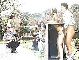 Public,Reality,Outdoor,Asian,Japanese,Street Big titty Asian fucked in public...