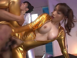 Threesome,Hardcore,FFM,Asian,Japanese,Natural Tits Kinky Japanese babes getting smashed...