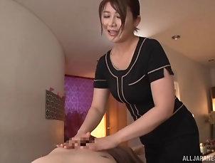 Japanese,Close Up,Cumshot,Facial Oshikawa Yuri likes when a naughty...