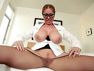 Couple,Hardcore,POV,Titjob,Close Up,Natural Tits,Big Tits Asian titty queen in glasses gets tit...