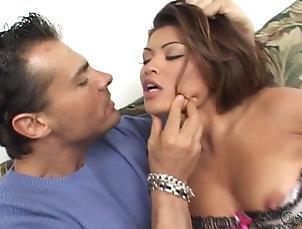 Couple,Hardcore,Asian,Cumshot,Facial,Cum In Mouth,Swallow,Pornstars Charmane Star sucks Nick...