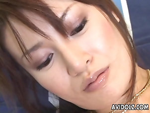 Asian,Japanese Asian bitch getting her wet pussy toy...