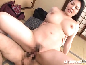 Hardcore,Reality,Caught,Asian,Japanese,Long Hair Older guy fucks his friend's...