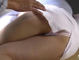 Miniskirt,Nice Ass,Panties,Asian,Japanese Sleeping Japanese girl gets her sexy...
