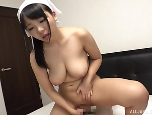 Couple,Japanese,Natural Tits,Chubby Chubby Japanese maid gets her pussy...