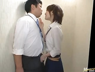 Reality,Hardcore,Asian,Japanese Horny Asian Secretary Giving a Great...