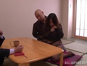 Reality,Bondage,MILF,Cougars,Asian,Hardcore,Japanese,Wife,Fetish Pretty Japanese wonan favours a dude...