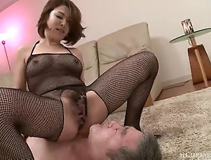 Couple,Hardcore,Asian,Japanese,Fishnet Icy hot Asian babe giving a massive...