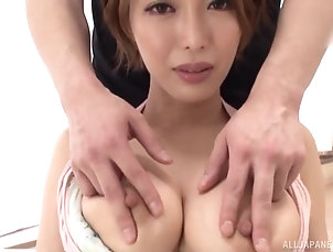 Couple,Japanese,Natural Tits Gorgeous busty Japanese Kimijima Mio...