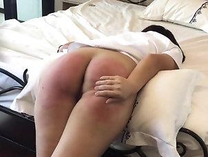 Fetish,Spanking,BDSM Asian slave Vanida gets a firm...