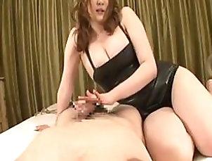 Big Tits,Hardcore,Couple,Handjob,Asian,Japanese Naturally Busty Japanese Babe Gives...