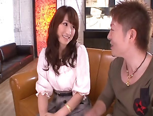 Couple,Hardcore,Asian,Japanese,Natural Tits,Long Hair Yui gets her pussy licked and ready...