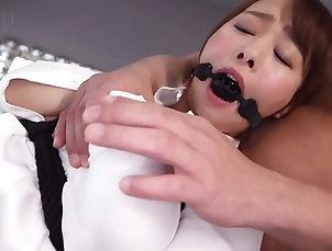 BDSM,Fetish,Asian,Japanese,Bondage Redhead Japanese slave has fun during...