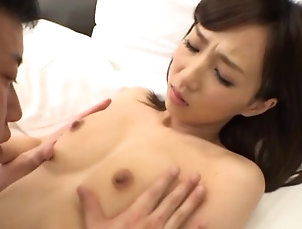Couple,Japanese Small boobs Japanese chick gets...