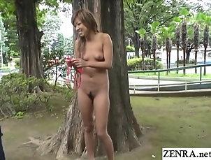 Japanese,Public,Flasher,Reality,Outdoor Public nudity tan gyaru zero shame...