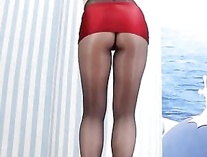 Asian;Brunette;18 Year Old;High Heels;Pantyhose;Lingeries;Dance;Lingerie Dance;Heels;Women in Pantyhose;HD Videos Dance in pantyhose and heels 101