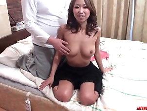 96::Asian,115::Blowjob,212::Lingerie,231::POV,803::Japanese,7706::HD,100 Miku Natsukawa endures heavy sex in...