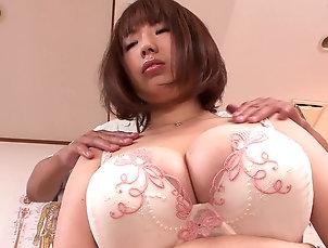 Asian,Babes,Reality,Big Tits,Japanese,Bra,Massage Rin Aoki Erotic Massage For Big...