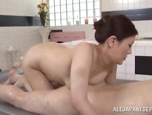Asian,Japanese,Brunettes,Natural Tits,MILF,Cougars,Couple,Hardcore Wonderful Sayuki Kanno Goes Hardcore...