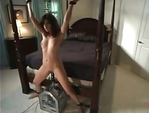 BDSM,Torture Smoking hot Asian babe gets her...