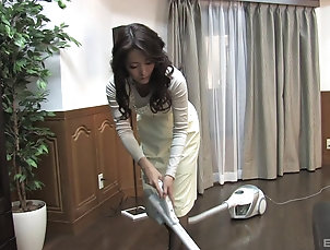 Japanese,Wife,Long Hair,MILF Japanese wife pleasures her puss and...